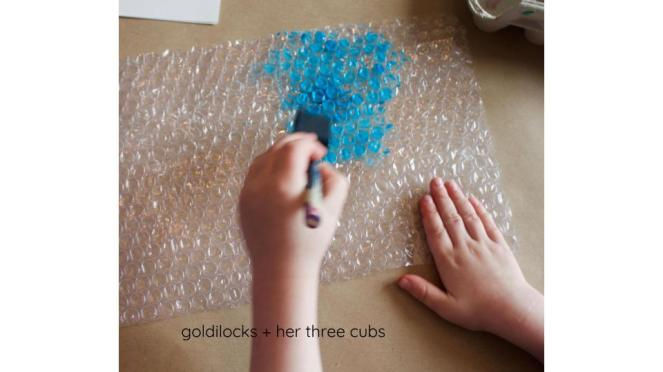 Low Prep Painting Activities by goldilocks + her three cubs