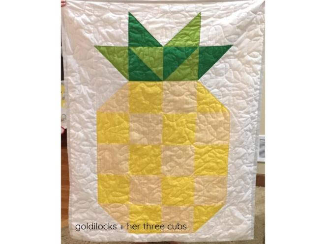 Pineapple Quilt by goldilocks + her three cubs