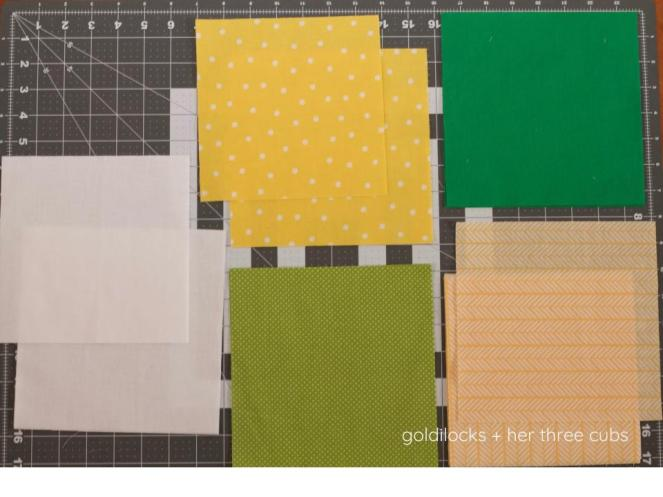 Pineapple Toddler Quilt by goldilocks + her three cubs